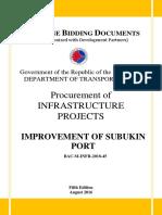 BD - Improvement of Subukin Port