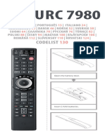 Urc7980 Manual All Languages