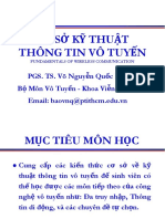 Slide - Co So Ky Thuat Thong Tin Vo Tuyen - T. Bao