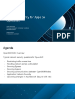 Network Security for Apps on OpenShift