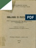 Tanácsadás és pszichoterápia, IVEY, LYNN-DOWNING, 1990