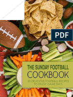 The Sunday Football Cookbook - BookSumo Press