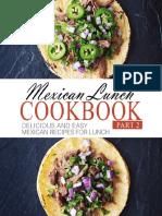 Cookbook - Mexican Lunch Cookbook - BookSumo Press