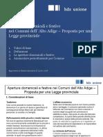 Aperture Domenicali e Festive_Proposta Legge