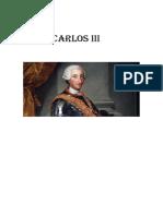 Carlos III Portada