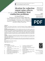 Wavelet application for reduction noise.pdf