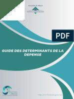 Guide Des Determinants de La Depense Avec Couverture Vf
