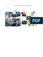 Lay Out Mesin Pembuatan Dan Replikasi Keping CD