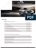 2010 Acura TL Fact Sheet Herb Connolly MA