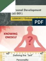 Lesson 2 Defining Self