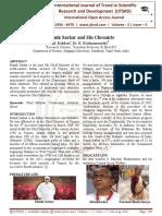 Manik Sarkar and His Chronicle