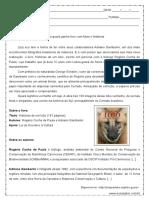 Interpretacao de Texto Genero Resenha de Livro 8º e 9º Anos Respostas