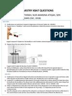 CHEMISTRY KBAT QUESTIONS.docx