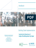 Handbook Building Code Implementation Learning From Experience of Lalitpur Sub-Metropolitan City Nepal (1)