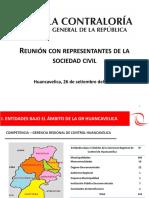 Presentación Gerencia Regional Huancavelica