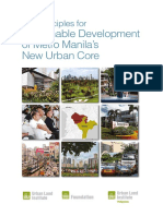 Case Study 10 Principles for Sustainable Development of Metro Manila Urban Core