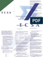 ECSA Brochure.doc