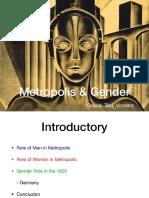 Metropolis & Gender