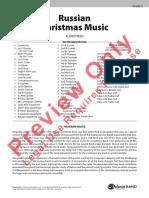 Reed - Russian Christmas Music Grade