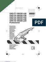 Gws 21180 h Professional