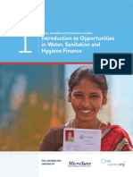 Water.org Toolkit 1 - Intro to Opportunities in WASH Microfinance