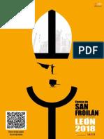 Programa Actividades San Froilán León 2018