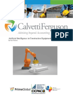 092718 Artificial Intelligence in Construction Equipment