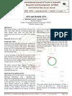 APIs and Restful APIs
