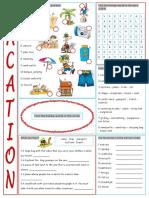 Vacation Vocabulary Exercises Fun Activities Games Icebreakers Oneonone Activity