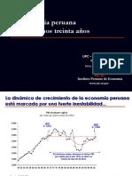 Eco Peruana Ultimos 30 Anos