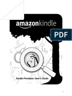 Guia Usuario Kindle