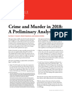 Crime and Murder in 2018