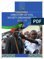 Tanzania Directory of Civil Society Organizations 2017 2018