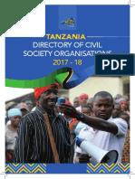 Tanzania Directory of Civil Society Organizations 2017 2018