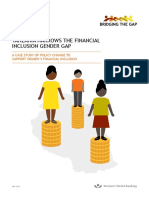 TANZANIA NARROWS THE FINANCIAL INCLUSION GENDER GAP A CASE STUDY OF POLICY CHANGE TO SUPPORT WOMEN'S FINANCIAL INCLUSION