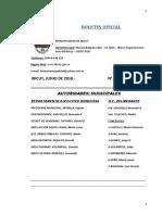 BOLETIN OFICIAL N° 79 - JUNIO 2018..-
