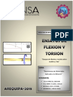 Flexion y Torsion