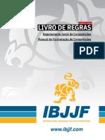 Rules Book IBJJF v5.0 Pt-BR