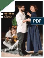 2018 Aranytiz Oktober programfüzet