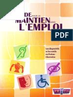 Guide Maintien Dans Emploi PDF