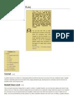 Gestalt - 5e Variant Rule