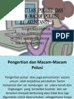 Pengertian Polusi Dan Macam-macam Polusi