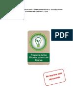 6 Programa de Uso Eficiente y Ahorro de Energia PUEAE