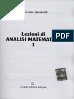 Analisi Matematica 1 - Lanconelli