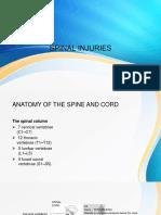 2. Spinal Cord Injuries