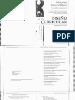Diseño Curricular Tucumán