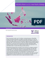 ASEAN's Role in a U.S. Indo-Pacific Strategy