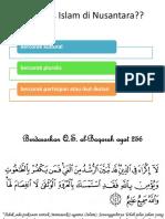 Corak Islam Di Nusantara