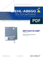 Ziehl Abegg Operating Instructions Zetadyn 3bf r Tba05 08