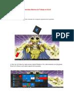 Comandos Básicos de Trabajo en Excel ACTIVIDAD 4
